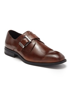 Karl Lagerfeld Monk-Strap Leather Dress Shoe
