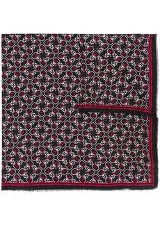Karl Lagerfeld monogram scarf