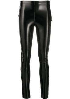 Karl Lagerfeld STUDIO KL patent slim leggings