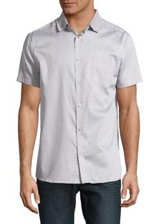 Karl Lagerfeld Printed Button-Down Shirt