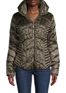 Karl Lagerfeld Quilted Puffer Jacket