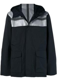 Karl Lagerfeld reversible reflective panel jacket