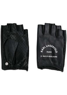 Karl Lagerfeld Rue St Guillaume fingerless gloves