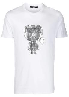 Karl Lagerfeld Silver Ikonik T-shirt