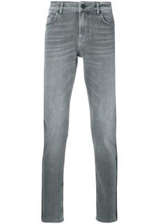 Karl Lagerfeld slim fit side stripe jeans