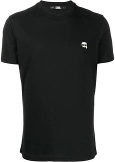 Karl Lagerfeld small logo patch T-shirt