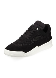 Karl Lagerfeld Men's Studded Mid-Top Platform Sneakers