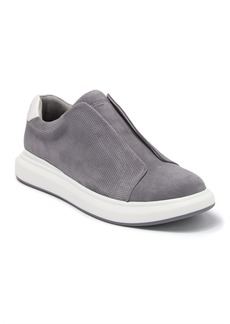 Karl Lagerfeld Suede Laceless Sneaker