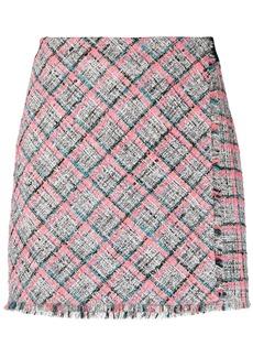 Karl Lagerfeld Summer tweed-boucle skirt