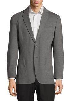 Karl Lagerfeld Textured Blazer Jacket