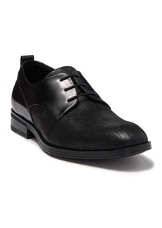 Karl Lagerfeld Textured Contrast Leather Derby