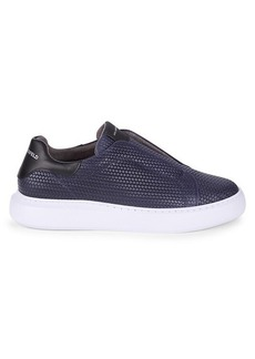Karl Lagerfeld Textured Leather Sneakers