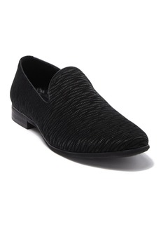 Karl Lagerfeld Textured Suede Loafer