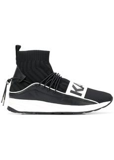 Karl Lagerfeld Vektor Karl Band Hi Sock trainers