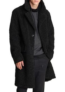 Karl Lagerfeld Water Resistant Sherpa Coat