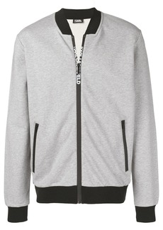 Karl Lagerfeld zipped track jacket