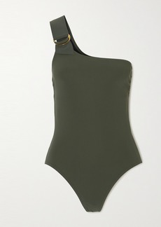 Karla Colletto Angelina One-shoulder Swimsuit