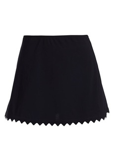 Karla Colletto Ines A-Line Skirt