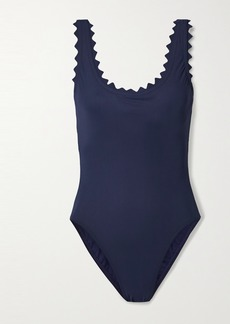 Karla Colletto Inés Scalloped Underwired Swimsuit