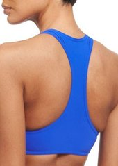 Karla Colletto Chunky Zippers II Cropped Swim Top