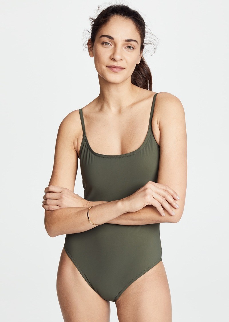 16205adcf8 Karla Colletto Karla Colletto Skinny Scoop One Piece | Swimwear