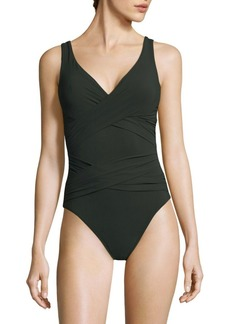 Karla Colletto Smart Surplice Swimsuit