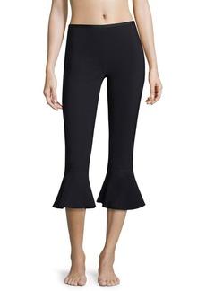 Karla Colletto Spresa Ruffle Crop Pants