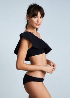 3f3883a6ab Karla Colletto Zaha One Shoulder Bikini Ruffle Top
