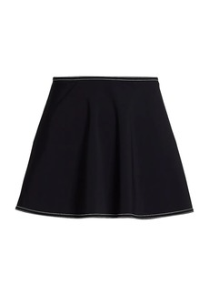 Karla Colletto Lyra A-line Skirt.