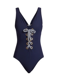 Karla Colletto Maritta Corset One-Piece Swimsuit