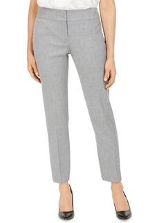 Kasper Carly Textured Straight-Leg Dress Pants