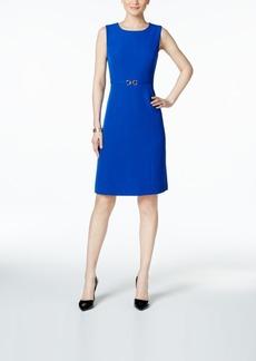 Kasper Embellished Sheath Dress