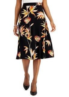 Kasper Petite Printed Skirt