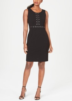 Kasper Grommet Sheath Dress