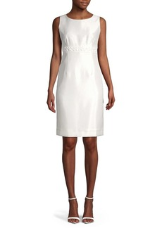 Kasper Jewelneck Shift Dress