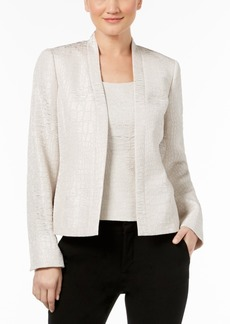 Kasper Pebbled Jacquard Blazer, Regular & Petite