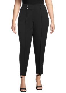 Kasper Plus Size Pull-On Pants