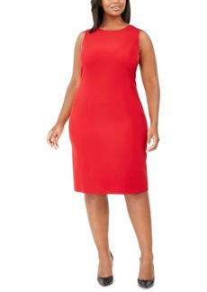 Kasper Plus Size Sleeveless Sheath Dress