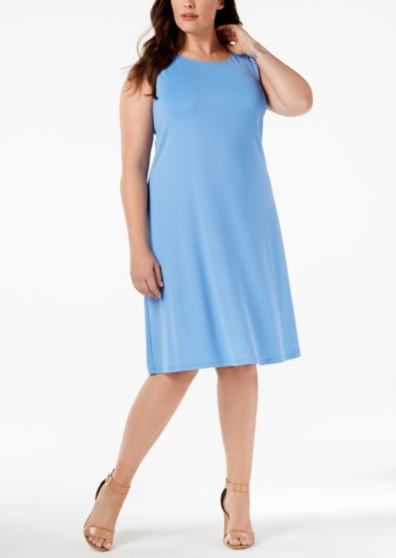 Kasper Kasper Plus Size Swing Dress