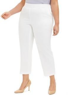 Kasper Plus Size Vanilla Ice Pull-On Pants