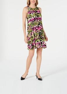 Kasper Printed Swing Dress