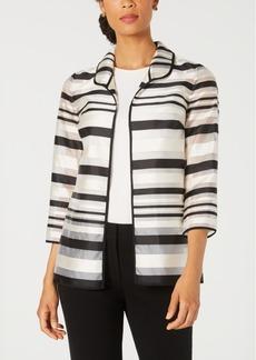 Kasper Shadow-Stripe Jacket