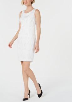 Kasper Shiny Sheath Dress