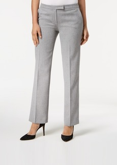 Kasper Straight-Leg Trouser Pants, Regular & Petite Sizes