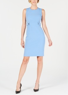 Kasper Waist-Tab Sheath Dress