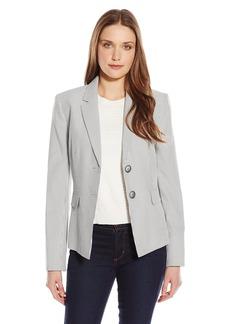 Kasper Women's 2 Button Pinstripe Jacket