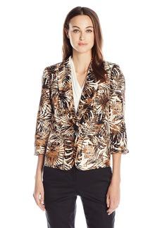 Kasper Women's 2 Button Shantung Jacket