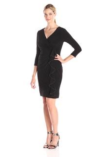 Kasper Women's 3/4 Sleeve Hillary Dress