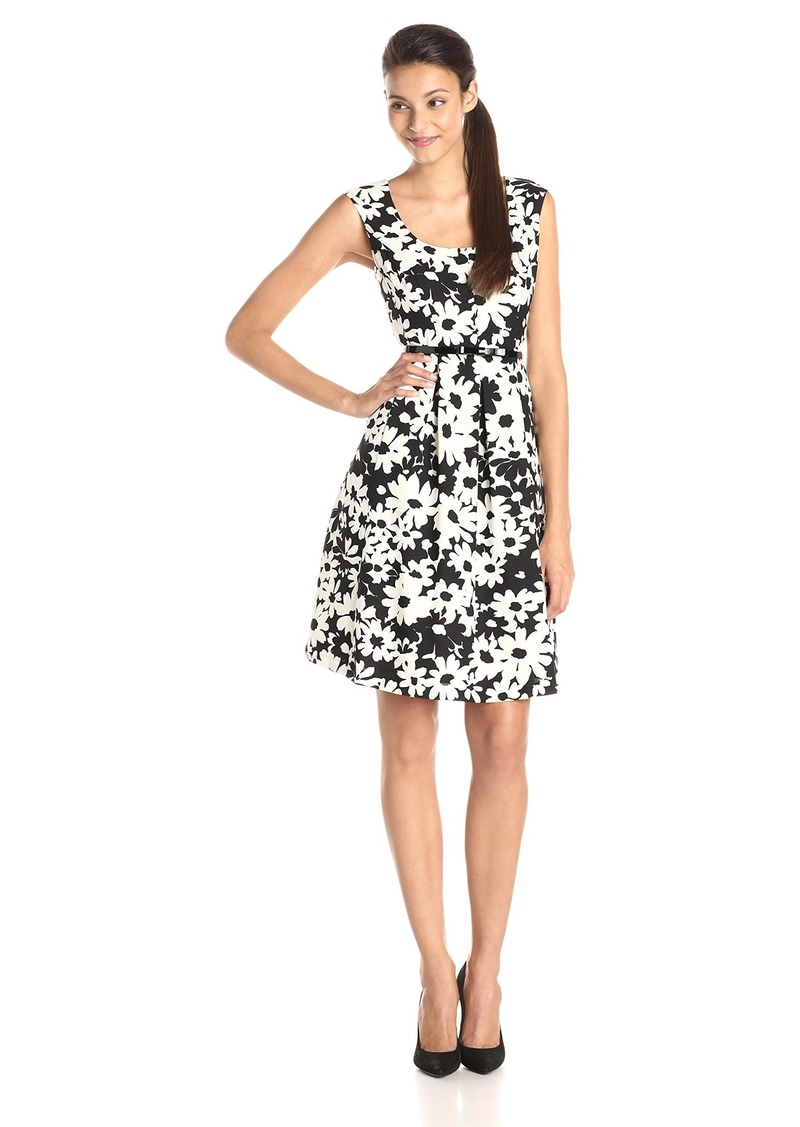 403dee637bb On Sale today! Kasper Kasper Women s Cap Sleeve Floral Printed Fit ...