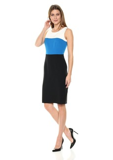 Kasper Women's Color Block Dress